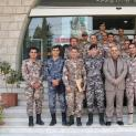 وفد كلية الأمير الحسين الفنية العسكرية يزور غرفة تجارة الزرقاء
