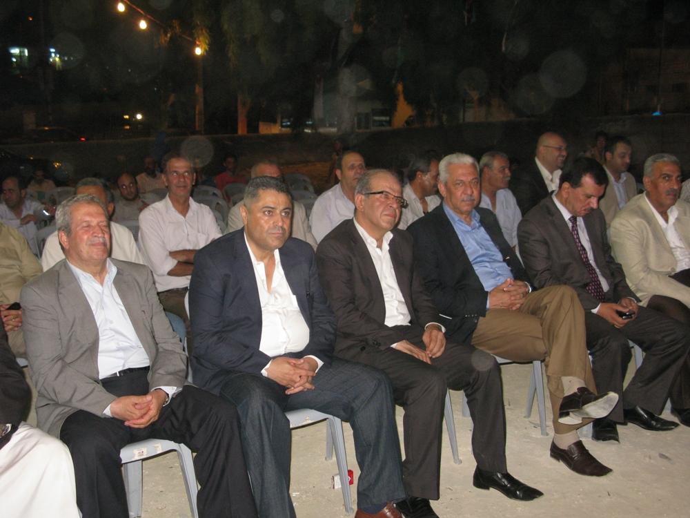 مهرجان خطابي كبير في الزرقاء احتفالا بانتصار غزة